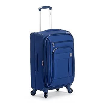 Delsey Luggage Helium Superlite Spinners Carry-On, Blue, One Size