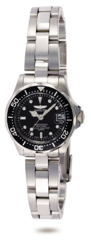 Invicta Women's 8939 Pro Diver Collection Stainless Steel - Steel Watch Logo Sport