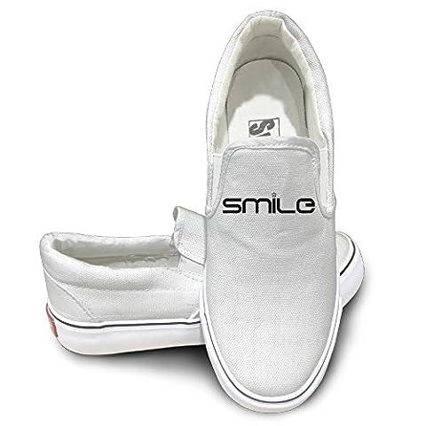 OOONG Mona Lisa Smile Casual Slip On Fashion Sneaker 43 (Lego Mona Lisa)