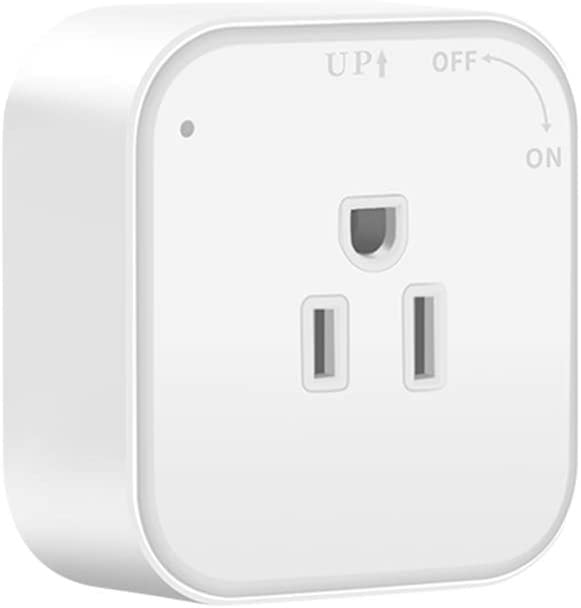 MSCIEN US Wall Outlet,White Outlet Adapter Surge Protected Working On Electric Track Outlet for Smart Phone Tablets Home,Office(10A/250V/2500W)