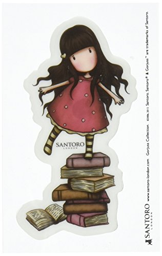 DOCrafts GOR907302 Santoro Rubber Stamps, No. 2 New Heights, Red