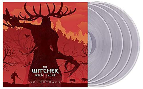 The Witcher 3: Wild Hunt Soundtrack - Exclusive Limited Edition Translucent Clear 4x LP Vinyl