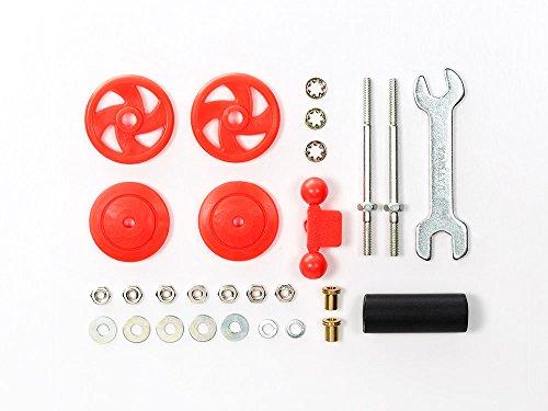 2 Large Diameter Stabilizer Head Set (17mm) Red ()