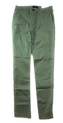American Eagle Men's Extreme Flex Slim Chino Pants 3793 (36x32, Green 300)