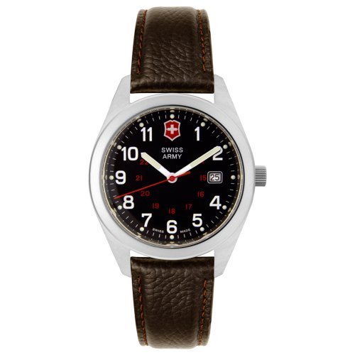 Victorinox Swiss Army Men's 241083 Garrison Collection Brown Leather Watch ()