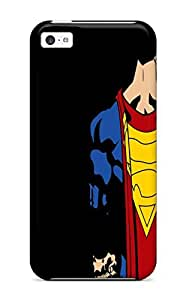 Flexible Tpu Back Case Cover For Iphone 5c - Superman Dc