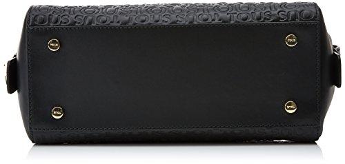 Tous Bowling Raquel de Piel - Borse Donna, Negro (Black), 13.5x30x22 cm (W x H L)