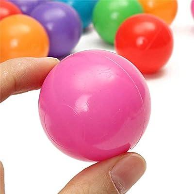 Raitron 200PCS 4cm Soft Plastic Ocean Ball Secure Kid Pit Toy Swim Colorful Ball Toy: Sports & Outdoors