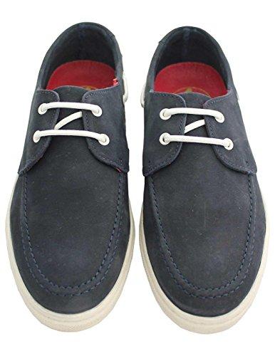 El Ganso Zapatos Nautico Nobuk Marino Azul