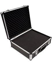 PeakTech P 7305 7305 Universele koffer voor meetinstrumenten, robuuste draagkoffer, gereedschapsopslag, blokschuimplaten, schuimbekleding, afsluitbaar, stofbescherming, L - 405 x 330 x 150 mm