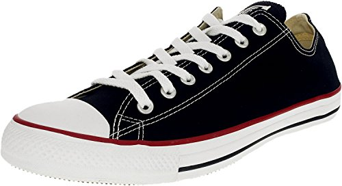 Converse Chuck Taylor All Star Core Low Top Canvas Black Ankle-High Rubber Fashion Sneaker - 12M/10M