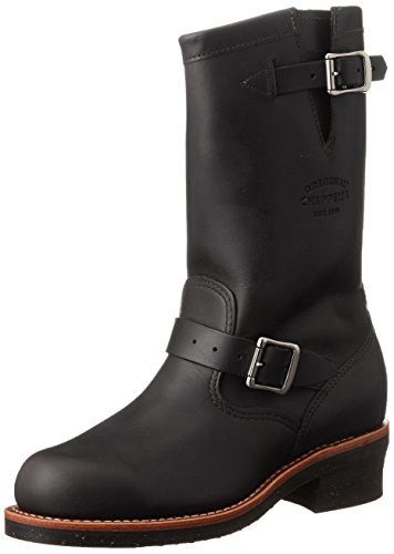 Chippewa 1901M03 Men's 11-in ST Engineer Boot Black Whirlwind 9 E US