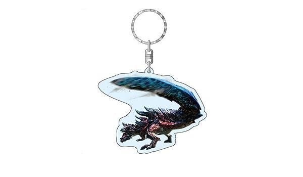 Monster Hunter Cruz Beast especie de dragoen Llavero de ...