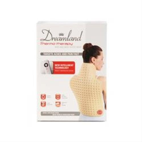 Dreamland Size 52 x 38 cm Thermo Therapy Neck and Back Heated Wrap by Dreamland