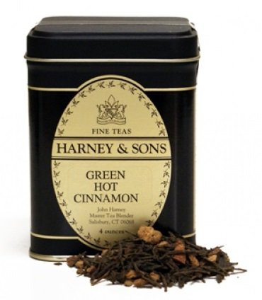 Harney & Sons Loose Leaf Tea - Green Hot Cinnamon Spice 4oz. (Wholesale Loose Leaf Tea)