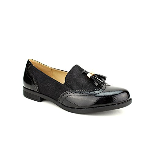 Femme Cendriyon CAILLS Chaussures Derbies Noires nT6pB