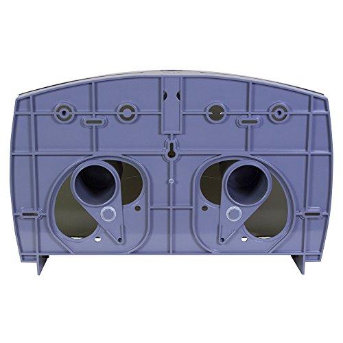 Kimberly-Clark Professional 09551 Cored JRT Jumbo Combo Tissue Dispenser, 20 2/5w x 5 4/5d x 13 1/10h, Smoke/Gray by Kimberly-Clark Professional (Image #4)