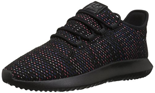 (adidas Originals Men's Tubular Shadow Ck Fashion Sneakers Running Shoe, Black/Solar red/Mystery Ink, 10.5 M US)