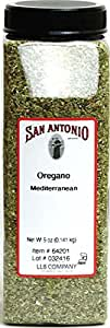 5 Ounce Restaurant Whole Dried and Cut Mediterranean Oregano Leaves Spice