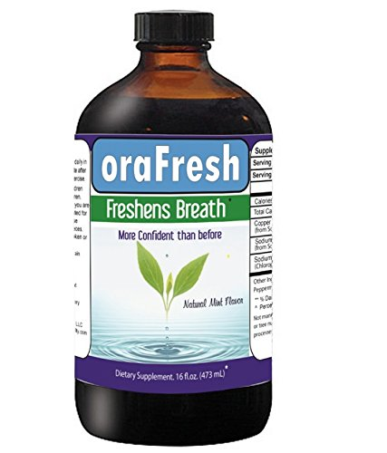 Embarrassed By Bad Breath  Try New 24 7 Orafresh   1 Liquid Supplement  Bad Breath Pills  Potent Oral Blend Neutralizes Odor Vitamins Help Improve Dental Health  Breath Freshener Odor Support