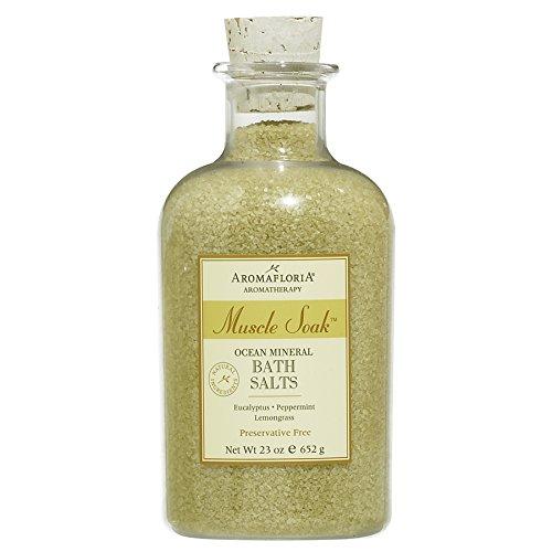 Aromafloria Ocean Mineral Bath Salts, Muscle Soak - 23 oz