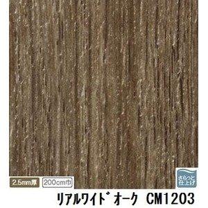サンゲツ 店舗用クッションフロア リアルワイドオーク 品番CM-1203 サイズ 200cm巾×2m B07PF7Z4Q5