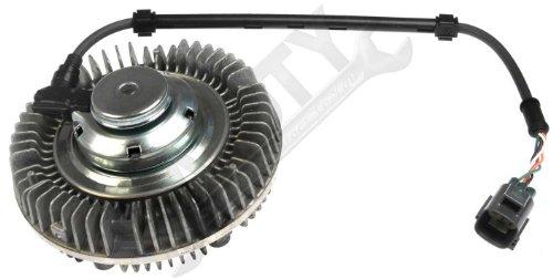 APDTY 733114 Electronic Radiator Fan Clutch Assembly For Dodge Ram Diesel Pickup 5.9L/6.7L (Replaces Mopar 52028879)
