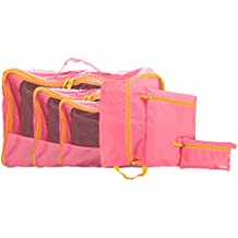 6 Set Travel Storage Bags Travel Multi-functional Clothing Sorting Packages, Travel Packing Organizers & Compression...