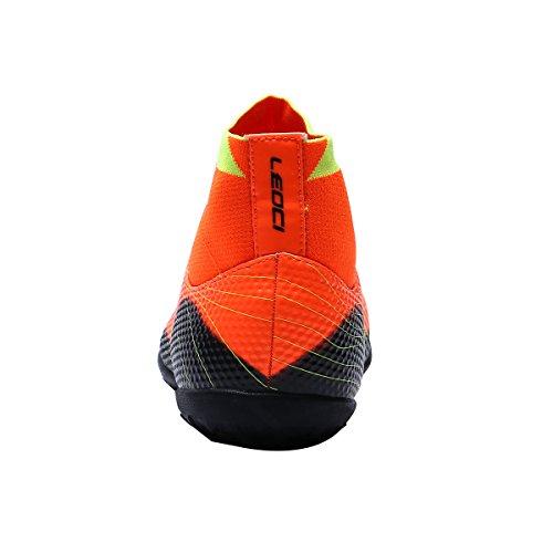 Ben Sport Herren Jungen Indoor Outdoor TF AG FG Fußballschuh Fußballschuh Schuhe für Kinder Erwachsene TF - Orange