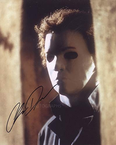 CHRIS DURAND as Michael Myers – Halloween H20: 20 Years Later GENUINE AUTOGRAPH
