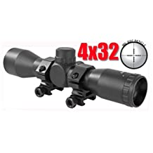 Trinity 4x32 Rifle Scope Mil Dot Reticle, Tippmann 98 Custom Paintball Gun Scope, Tippmann 98 Custom Gun Scope, Tippmann Paintball, Trinity Paintball, Paintball Scope, Paintball Sight, Fast Shipping