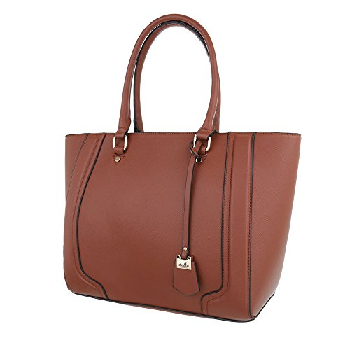 Schuhcity24 Taschen Handtasche Braun 3aULe