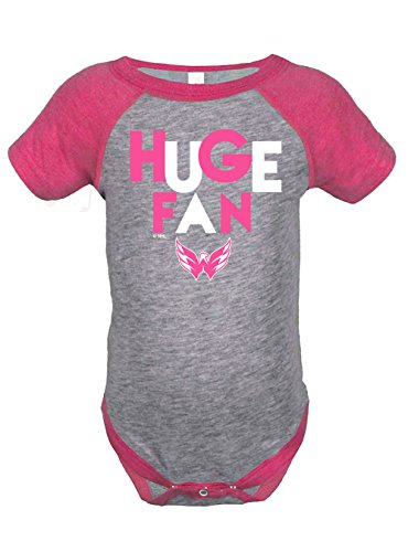 NHL-Girls-Infant-Onesies