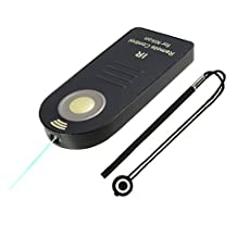 Foto&Tech FTML-L3 Wireless Remote-Nikon D7500 D750 D3400 D3300 D3200 D5500 D5300 D5200 D5100 D5000 D7200 D7100 D7000 D610 D600 D60 D80 D90/COOLPIX P900 P7800 A/Nikon 1 J1 J2/1 V1 V2 V3+Lens Cap Holder