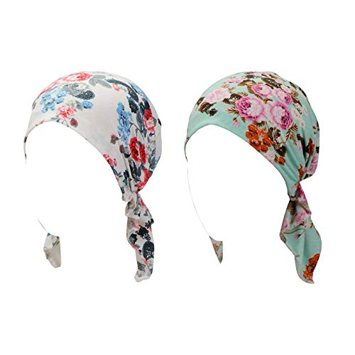 Turban Hat Head Scarf Wrap Cancer Chemo Hair Loss Cap for Women - Hat Scarf Wrap