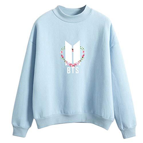 Kpop Oto larga Invierno con Bangtan Sportswear Bts elegantes Sudadera Sudadera Unisex Su Tumblr Camiseta Mantant capucha Tops Pullover manga Col o Aibayleef 7U5xqanwIp