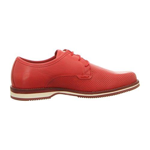 nobrand 12440-06 - Zapatos de cordones para hombre Rojo