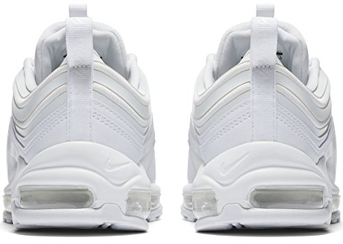 huge selection of 93bf6 9a352 Nike W Air Max 97 UL 17, Chaussures de Gymnastique Femme Blanc Cassé ( Whitewhitewhite ...