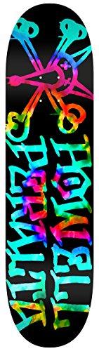 Swiss Powell (Powell-Peralta Vato Rat Tie-Dye Complete Skateboard, Blue)
