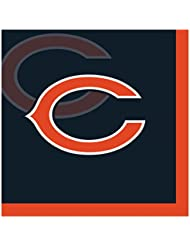 Creative Converting Officially Licensed NFL Paper Beverage Napkins 192 Count Chicago Bears