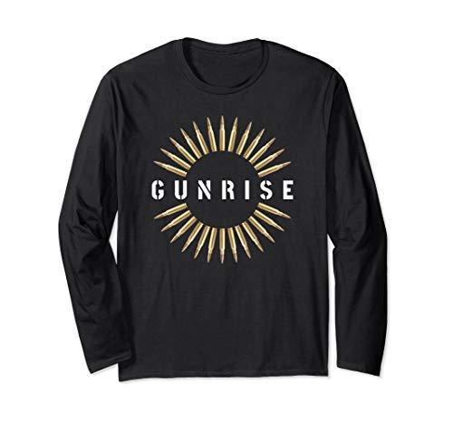 Gunrise Bullet Shooter Gun Rights Long Sleeve T-shirt
