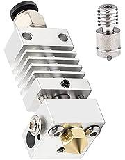 Bayda Alle metalen Hotend - Titanium Heat Break, Nozzle .4mm, Pneumatische Koppeling, Silicone Sock Creality Ender 3 upgrades
