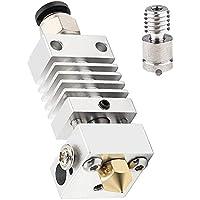 Runtodo All Metal Hotend - Titanium Heat Break, Nozzle .4mm, Pneumatic Coupler, Silicone Sock Creality Ender 3 Upgrades