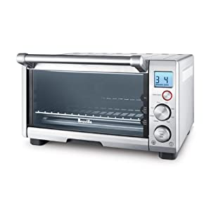 Breville the Compact Smart Oven, Countertop Electric Toaster Oven BOV650XL 6