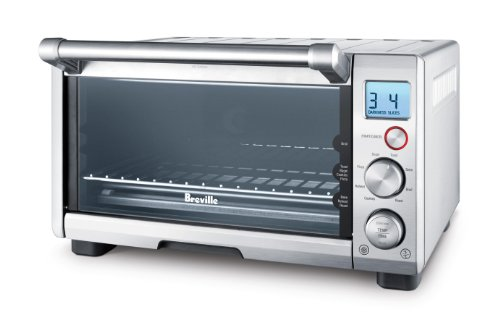 BREVILLE the Compact Smart Oven, Countertop Electric Toaster Oven BOV650XL ()
