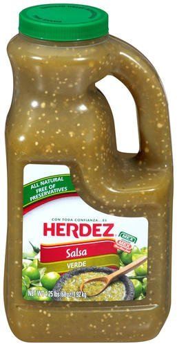 Herdez Salsa Verde - 68 Oz -4.25lb Jug (Pack of 2)