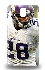 Galaxy Case For Galaxy Note 3 With Nice NFL Minnesota Vikings Adrian Peterson #28 Appearance ( Custom Picture iPhone 6, iPhone 6 PLUS, iPhone 5, iPhone 5S, iPhone 5C, iPhone 4, iPhone 4S,Galaxy S6,Galaxy S5,Galaxy S4,Galaxy S3,Note 3,iPad Mini-Mini 2,iPad Air )