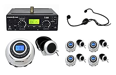 5 Person Multichannel Translation System with Interpreter Monitor Reviews
