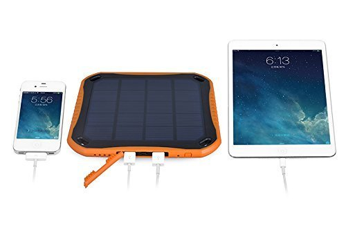Extreme ECO Solar CAT S60 SmartPhone Window/Travel Rapid Charger Power Bank! (2.1A/5600mah) by Mobile Power (MP) (Image #4)