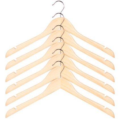 Wood Shirt Hanger Set Color